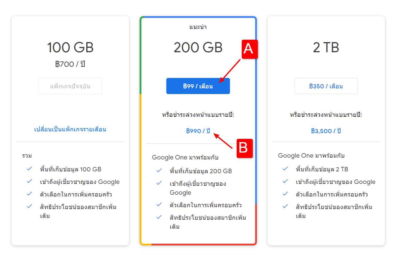 Google One Select Plan