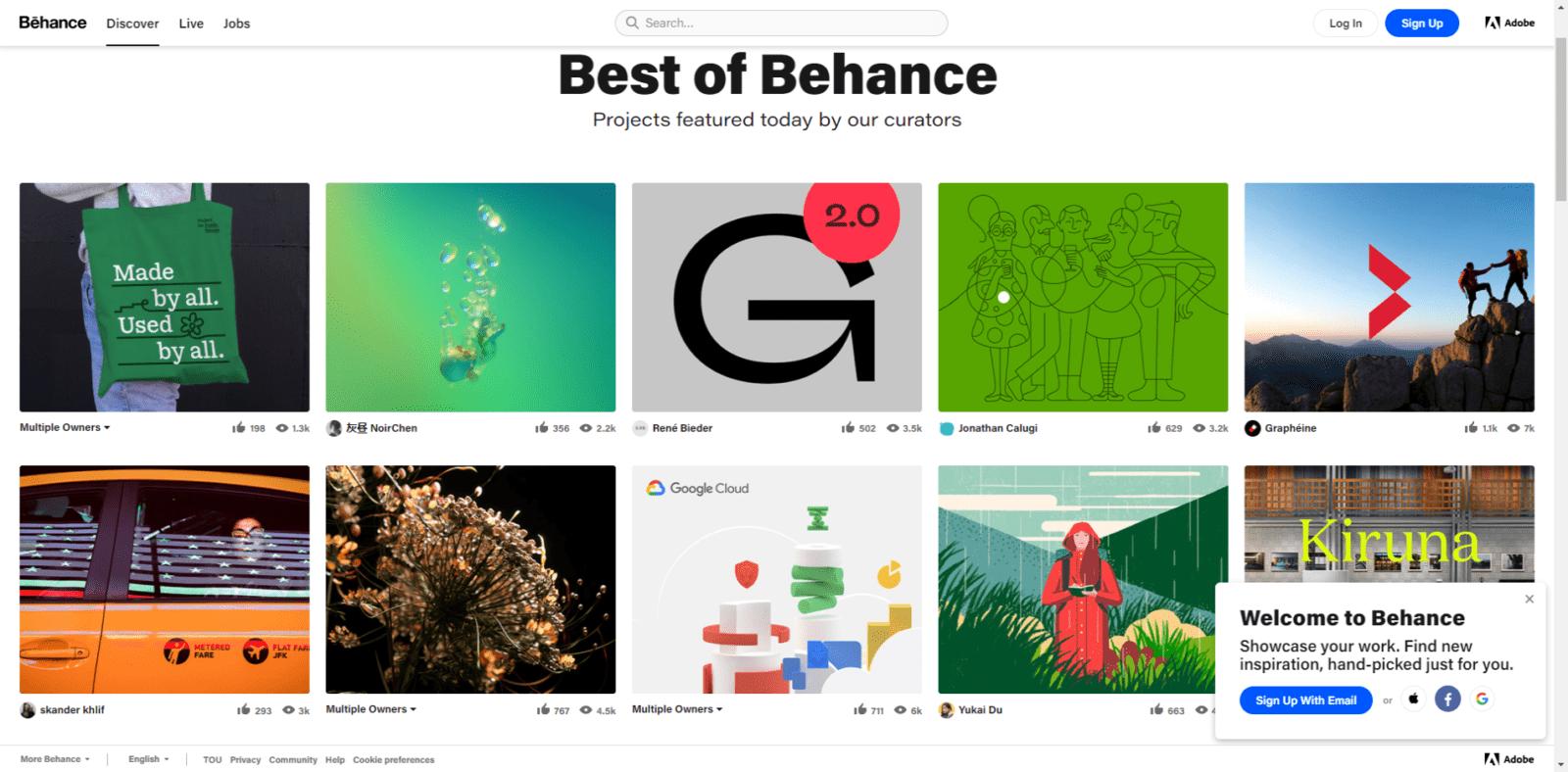 Behance Best of Behance