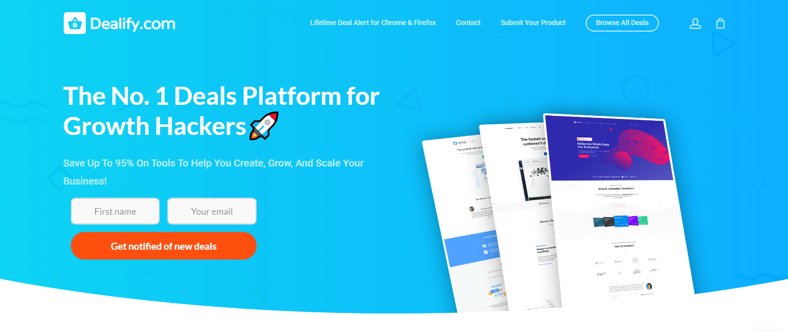 Dealify The Number One Lifetime Deals Platform for Growth Hackers