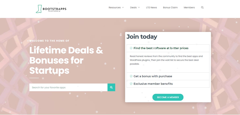 Lifetime Deals Bonuses For Startups