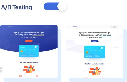 Swipe Page Experiment Optimize with A B Testing