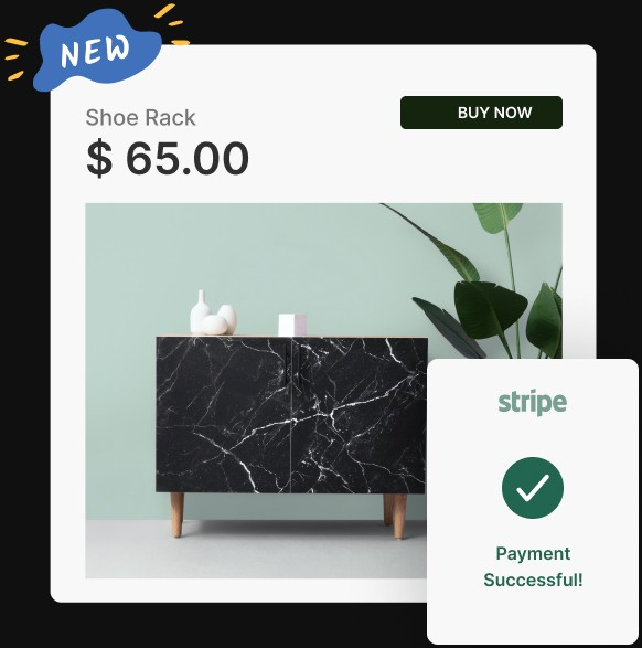 Swipe Page Sell Products