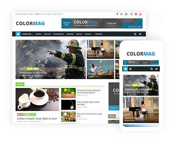 ColorMag ThemeGrill