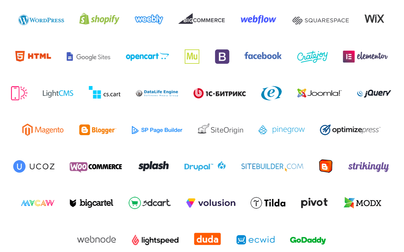 70 Website Widgets Elfsight Apps