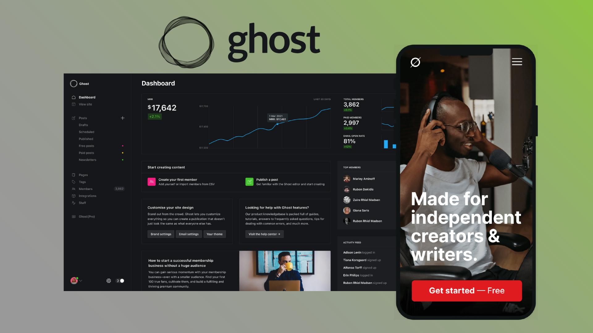 Platforms Ghost