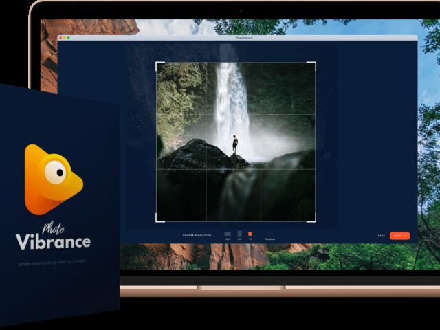 PhotoVibrance สร้างรูปภาพให้มีมิติ Motion Picture